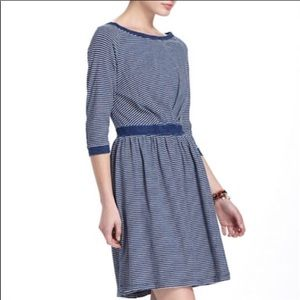 Anthropologie Patched Racquet Dress